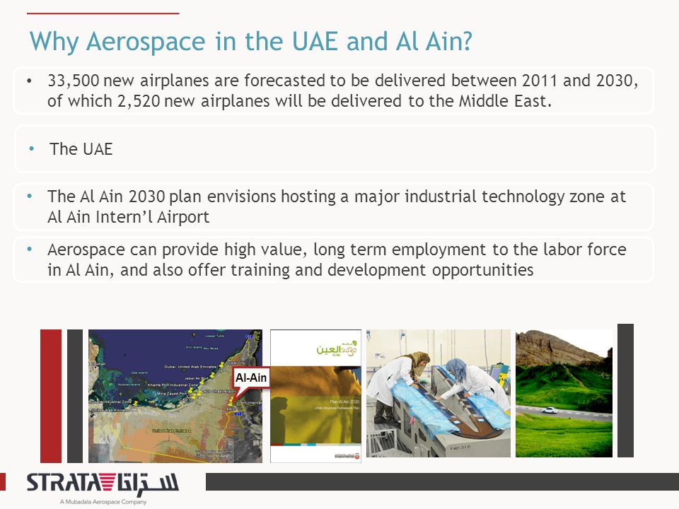 Why Aerospace in the UAE and Al Ain