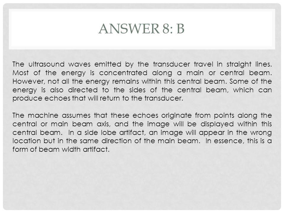 Answer 8: b