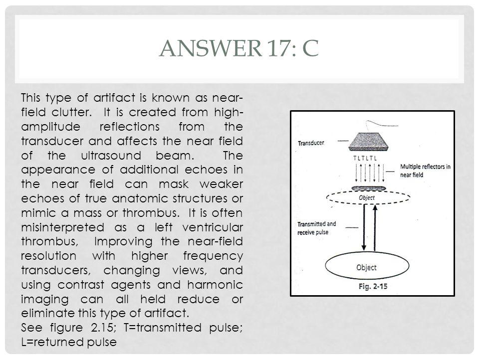 Answer 17: c