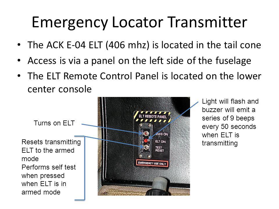Emergency Locator Transmitter
