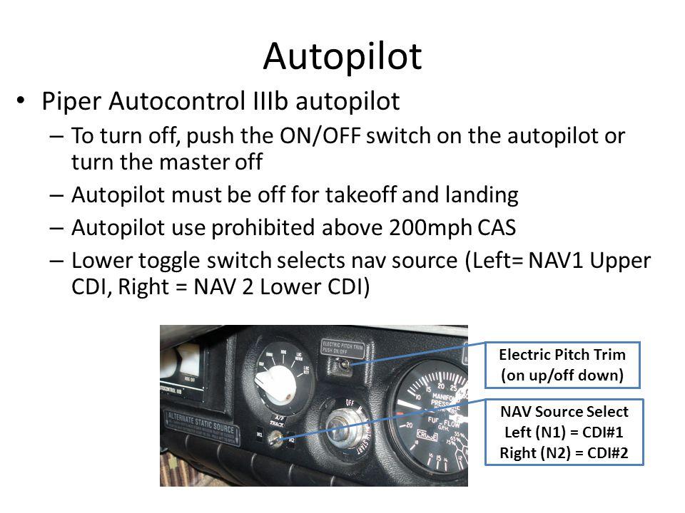 Autopilot Piper Autocontrol IIIb autopilot