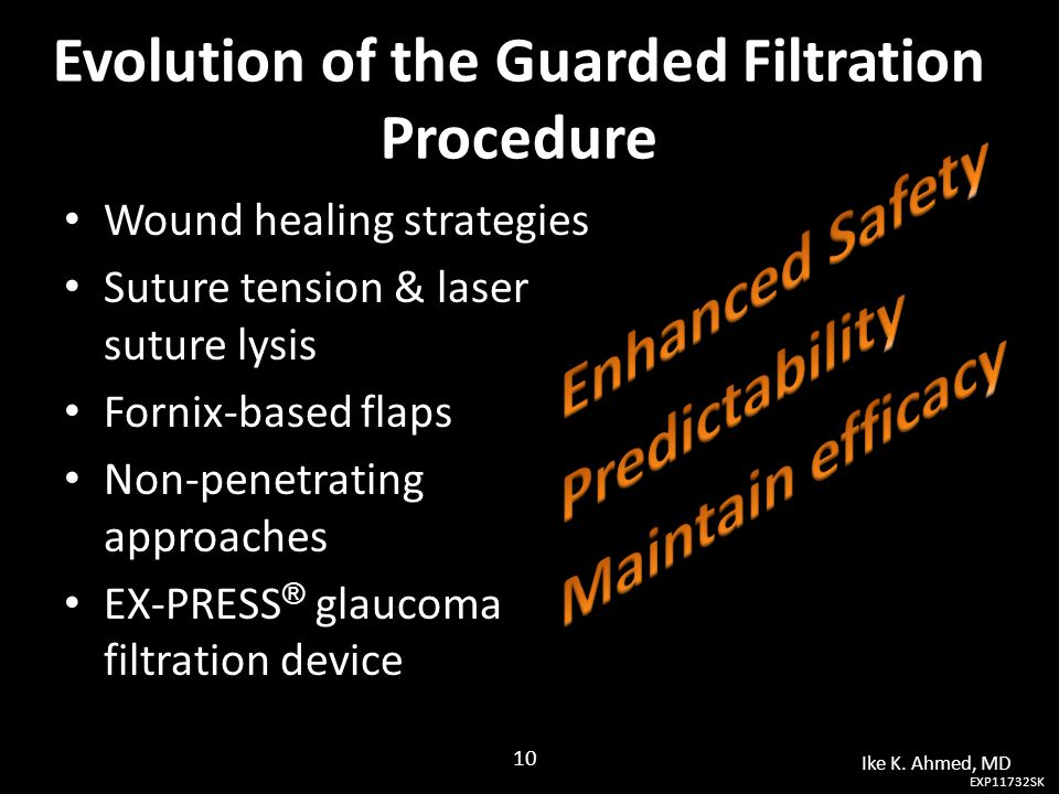 Evolution of the Guarded Filtration Procedure