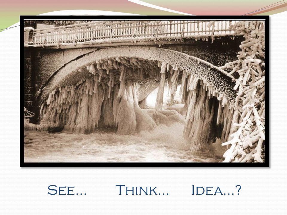 See… Think… Idea…