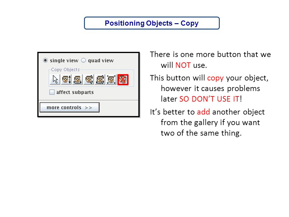 Positioning Objects – Copy