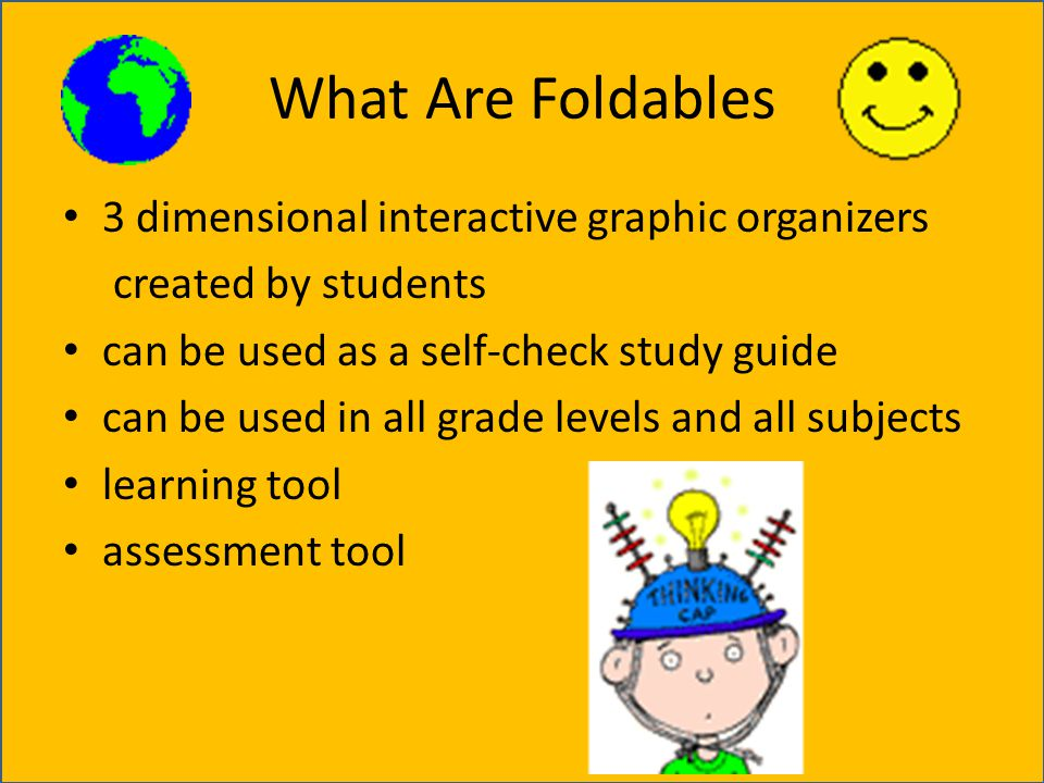 What Are Foldables 3 dimensional interactive graphic organizers