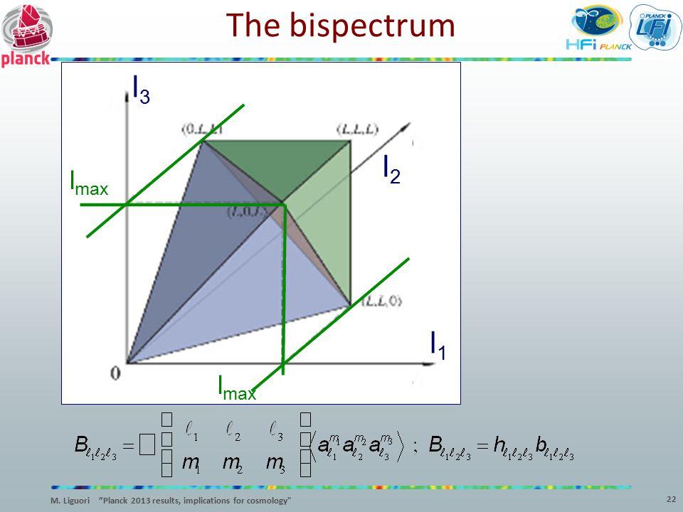 The bispectrum l3 l2 l1 lmax lmax