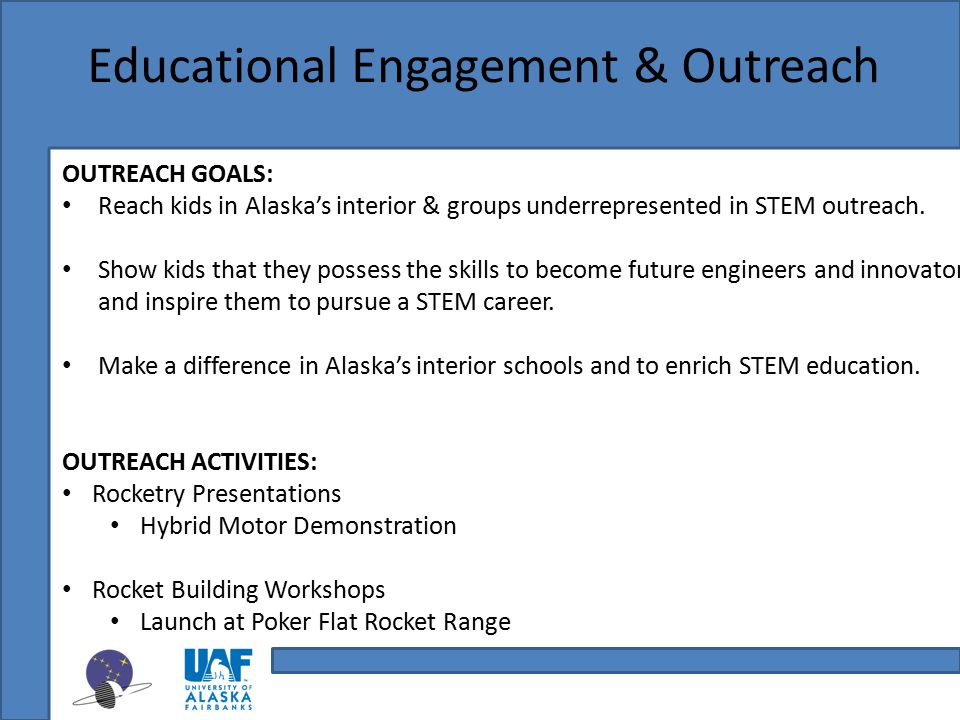 Educational Engagement & Outreach