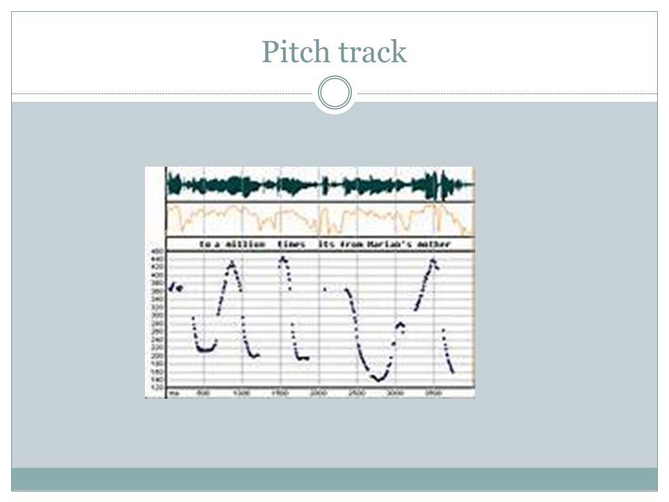 Pitch track