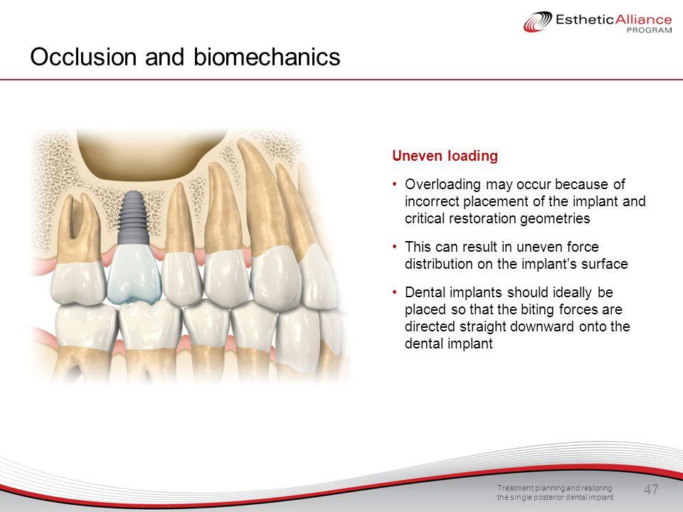 Occlusion and biomechanics