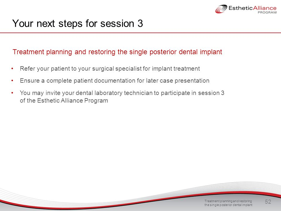 Your next steps for session 3
