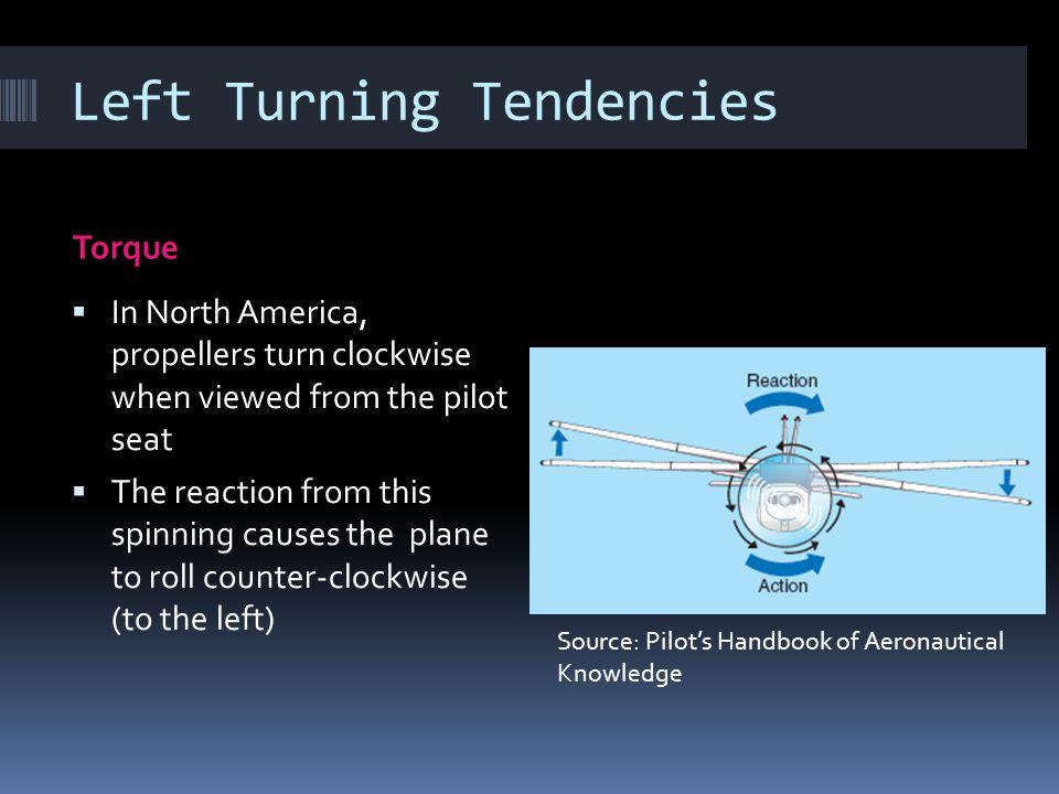 Left Turning Tendencies