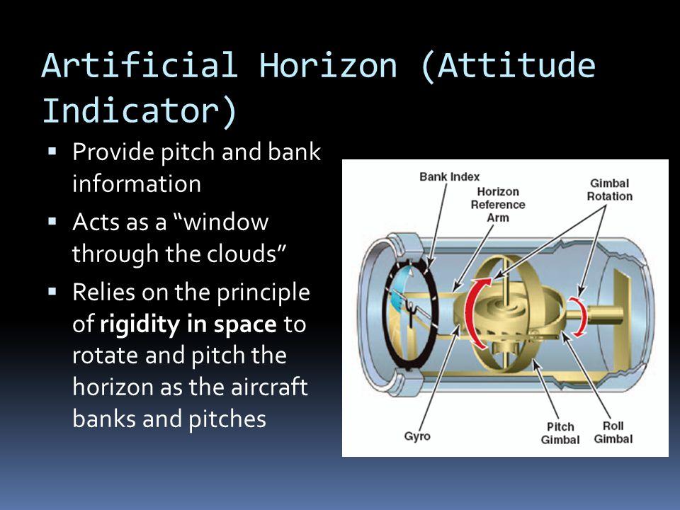 Artificial Horizon (Attitude Indicator)