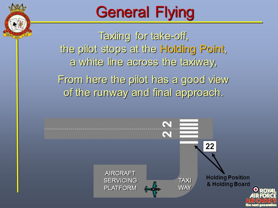 General Flying 2 2 Taxiing for take-off,