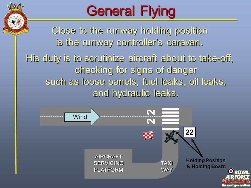 General Flying 2 2 Close to the runway holding position
