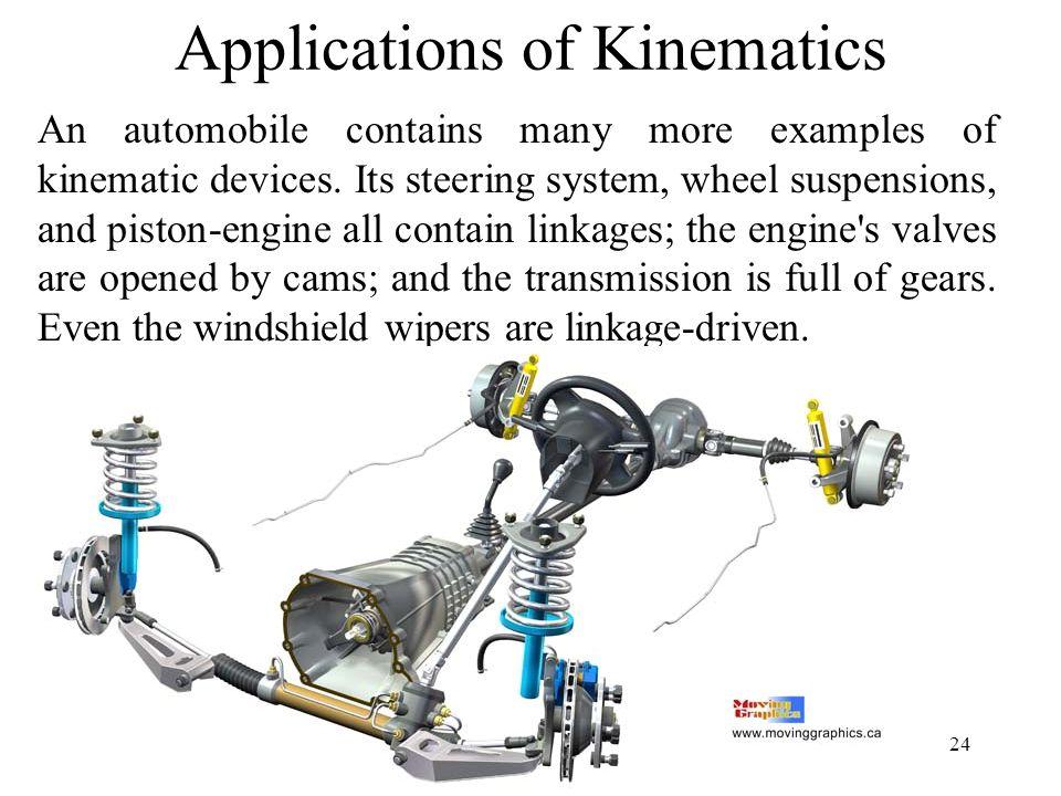 Applications of Kinematics