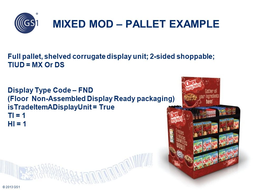 MIXED MOD – PALLET EXAMPLE