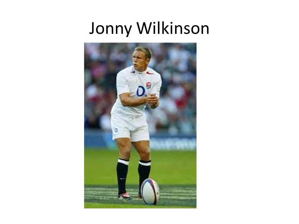 Jonny Wilkinson