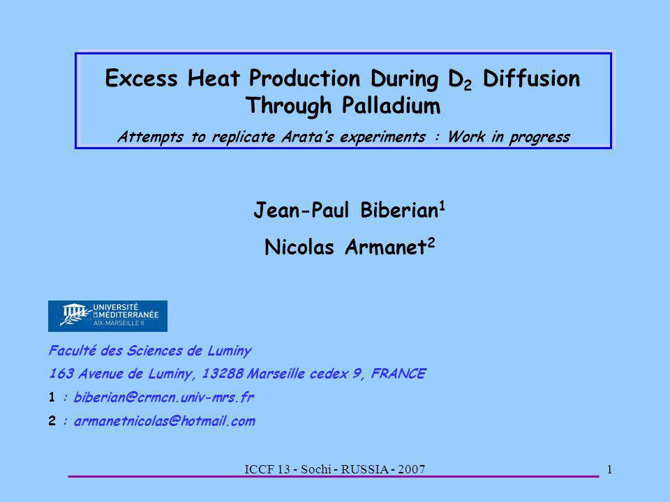 Excess Heat Production During D2 Diffusion Through Palladium