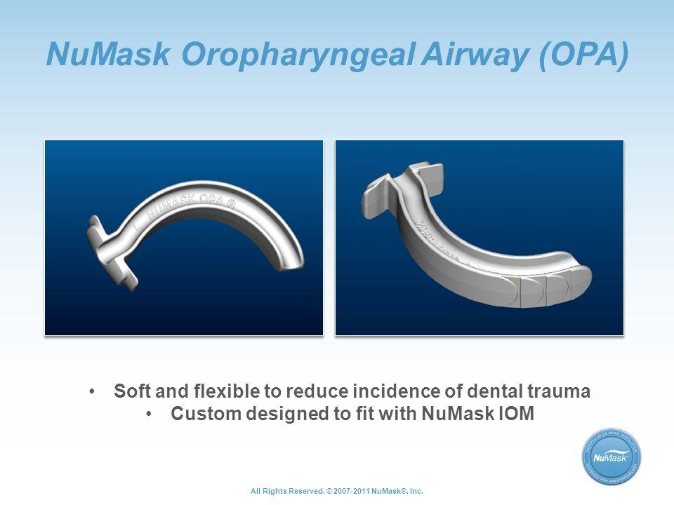 NuMask Oropharyngeal Airway (OPA)