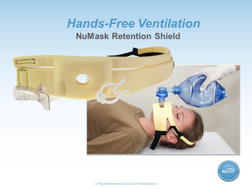 Hands-Free Ventilation NuMask Retention Shield