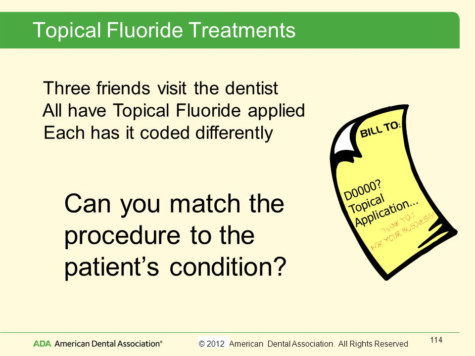 Topical Fluoride Treatments