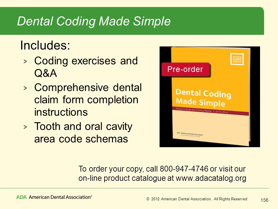 Dental Coding Made Simple