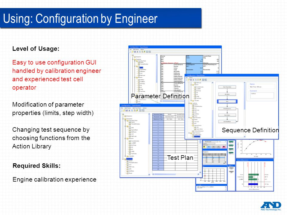 Using: Configuration by Engineer