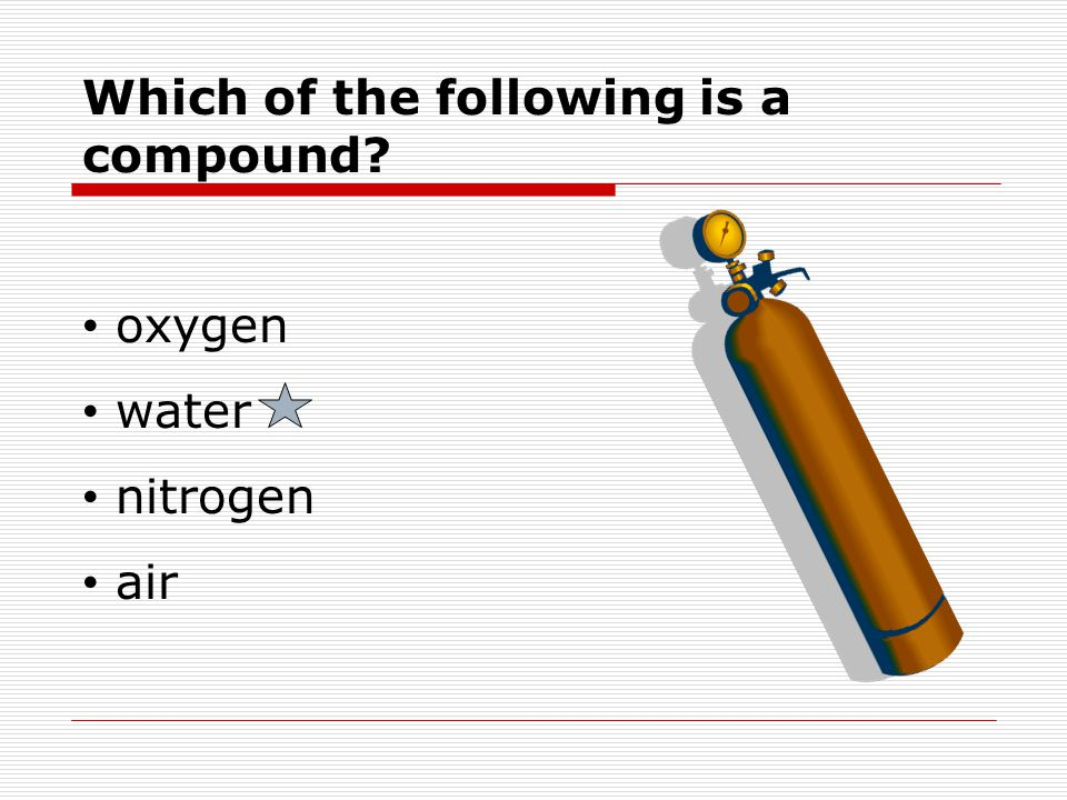 Which of the following is a compound