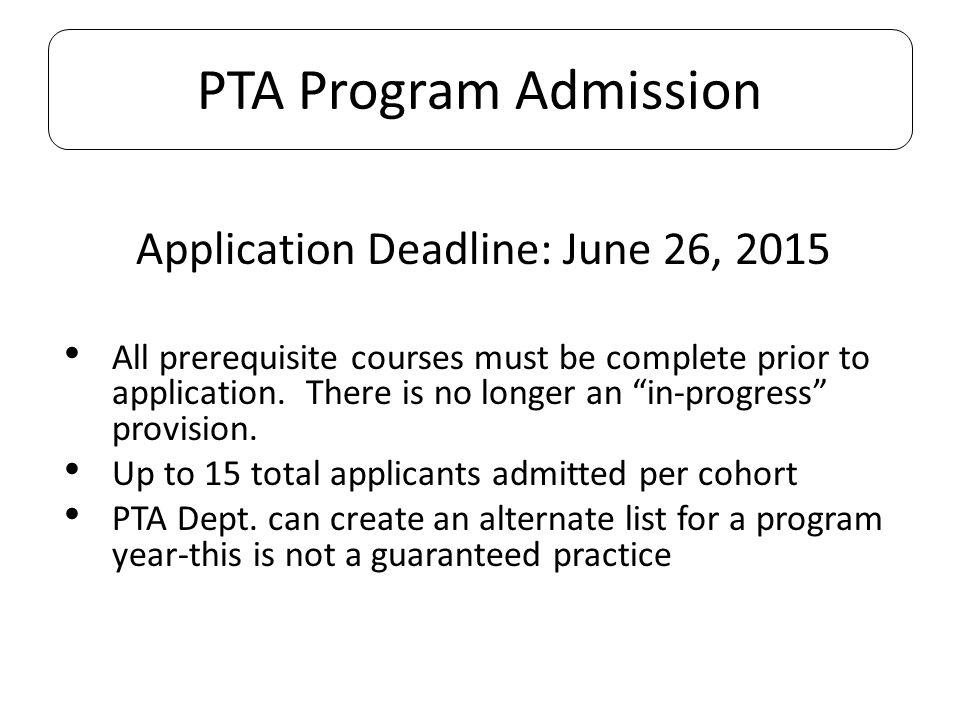 Application Deadline: June 26, 2015