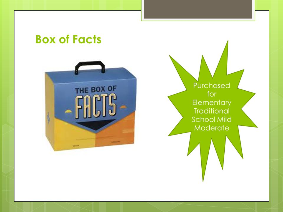 Box of Facts