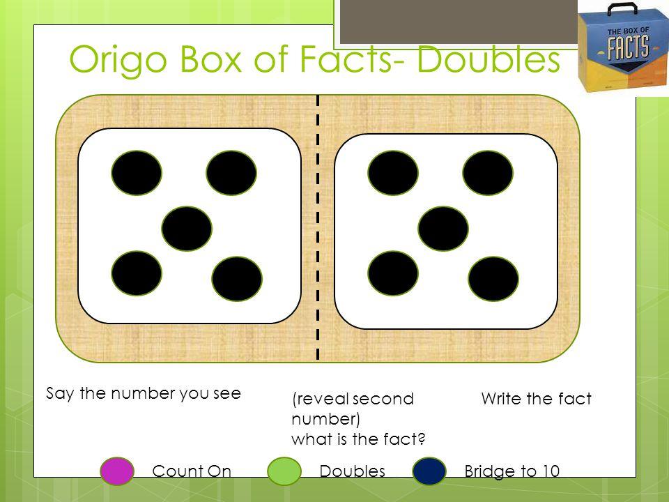Origo Box of Facts- Doubles