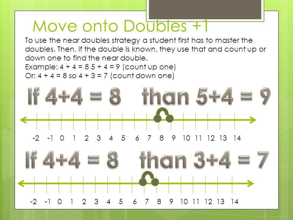 If 4+4 = 8 than 5+4 = 9 If 4+4 = 8 than 3+4 = 7