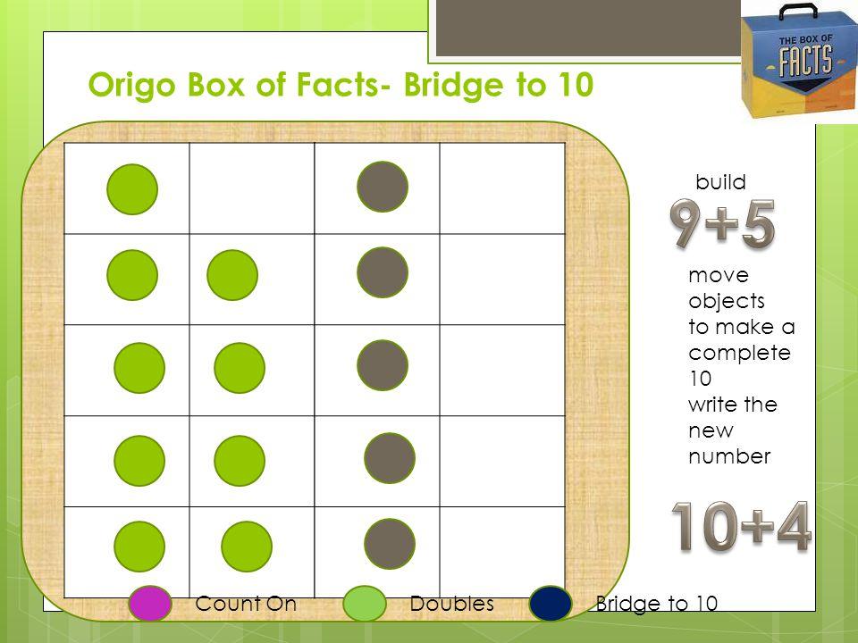 Origo Box of Facts- Bridge to 10
