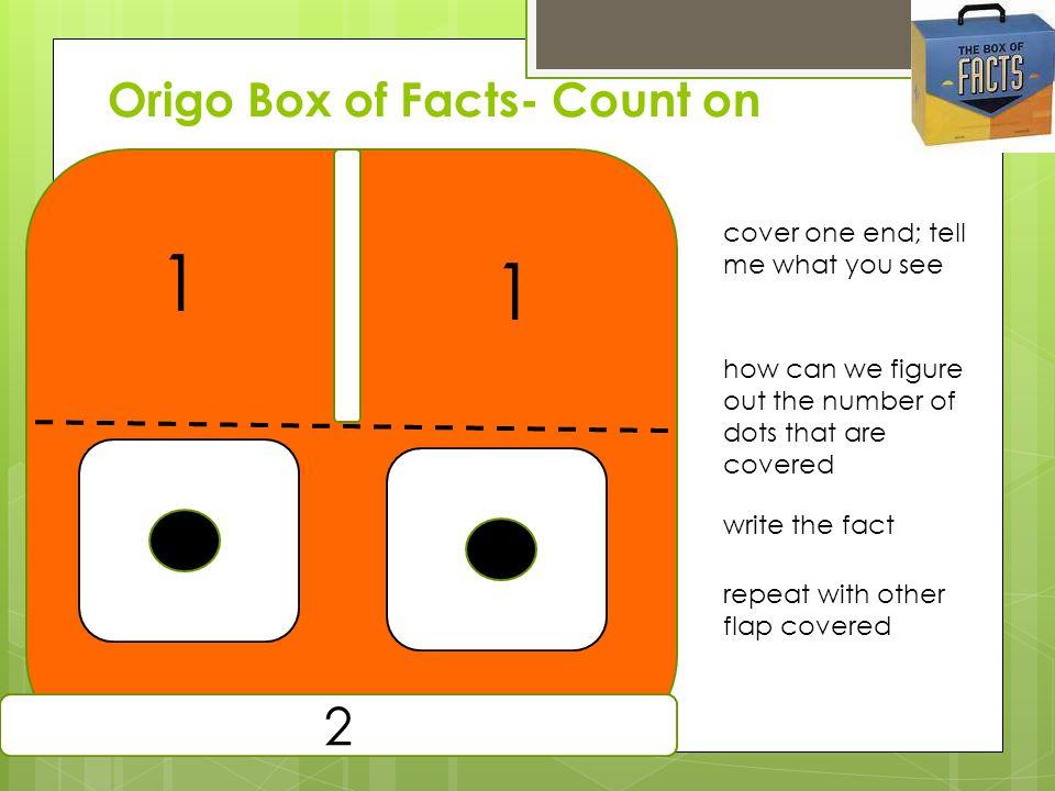 Origo Box of Facts- Count on