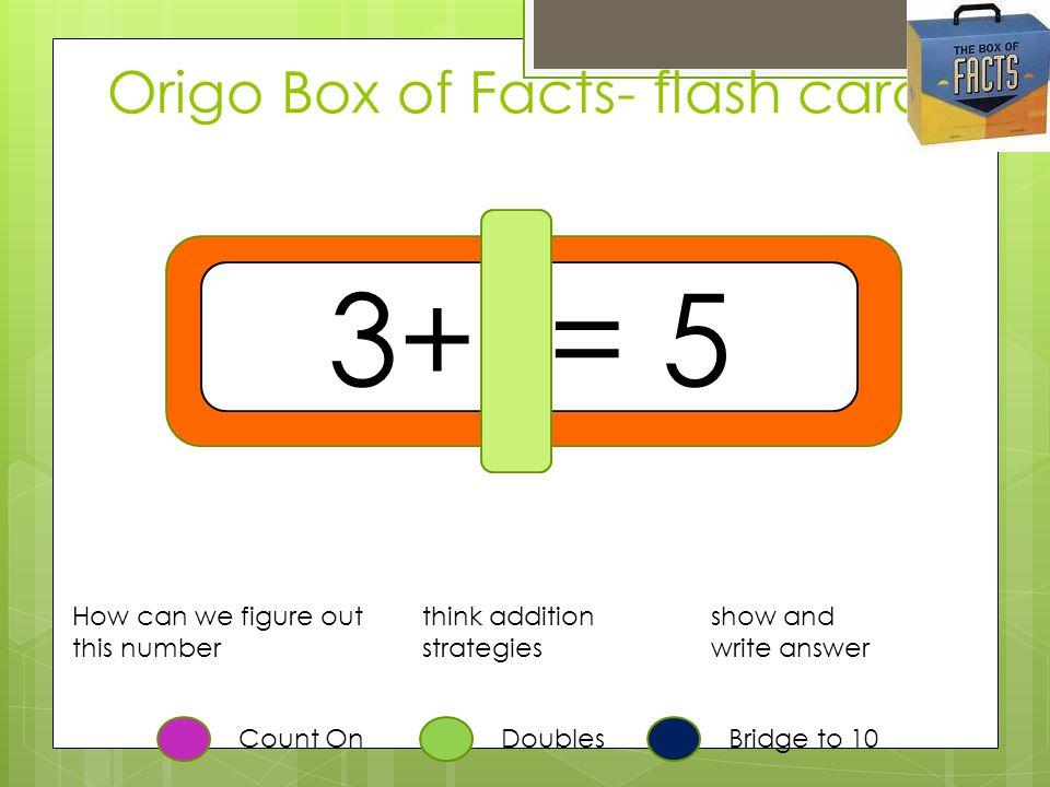 Origo Box of Facts- flash cards