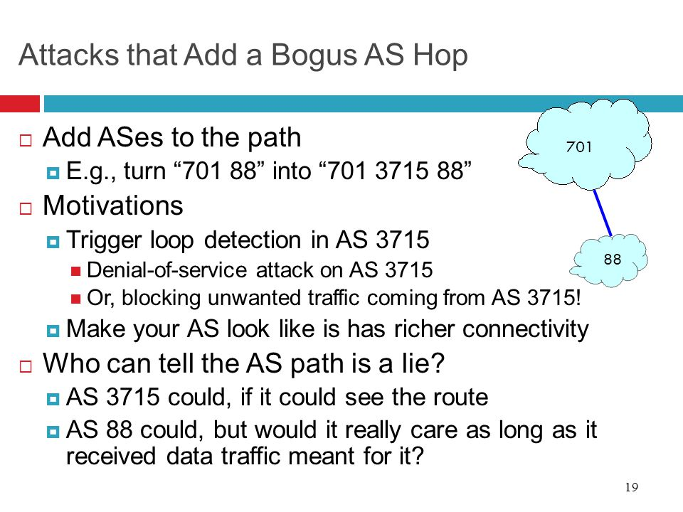Attacks that Add a Bogus AS Hop