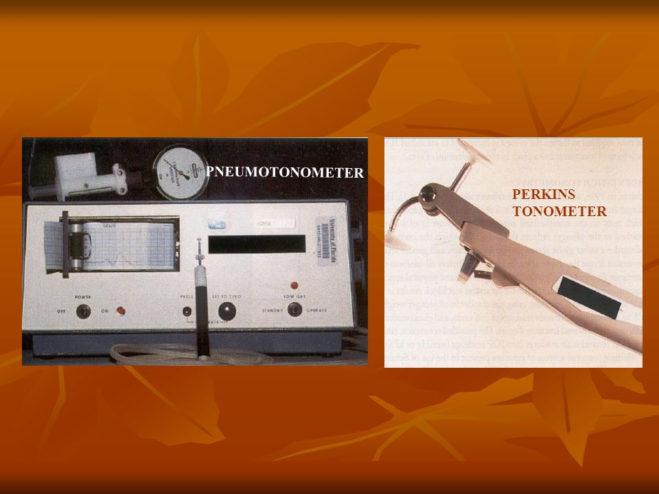 PNEUMOTONOMETER PERKINS TONOMETER