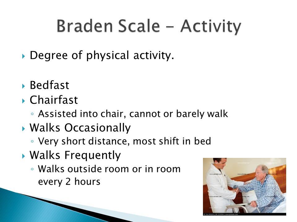 Braden Scale - Activity