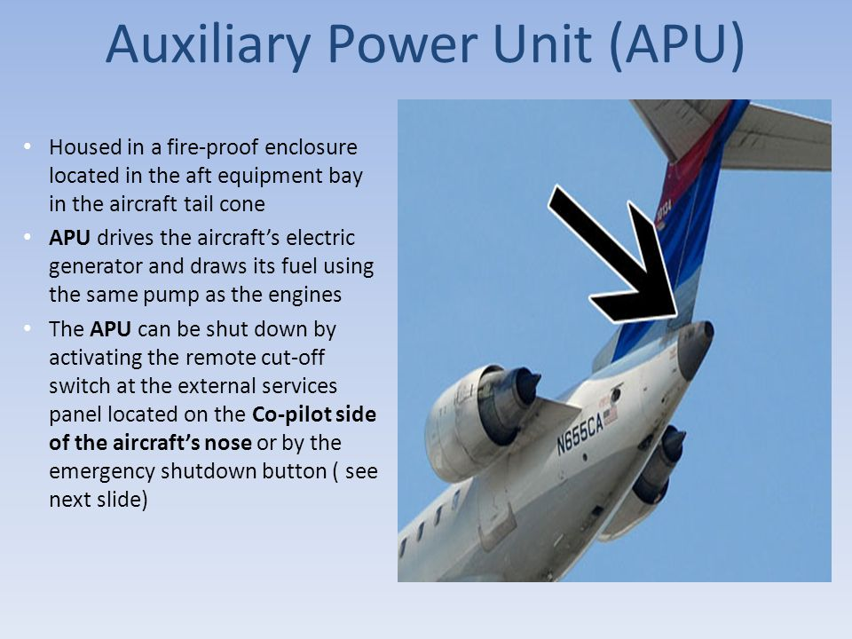 Auxiliary Power Unit (APU)