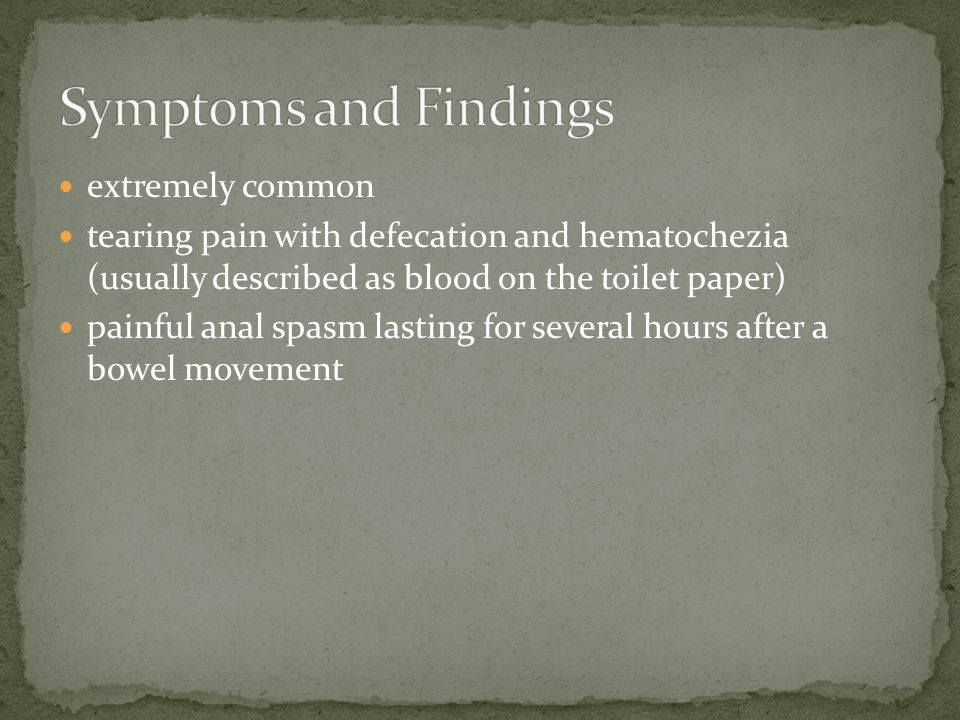 Symptoms and Findings extremely common