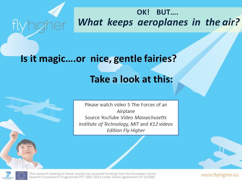 What keeps aeroplanes in the air