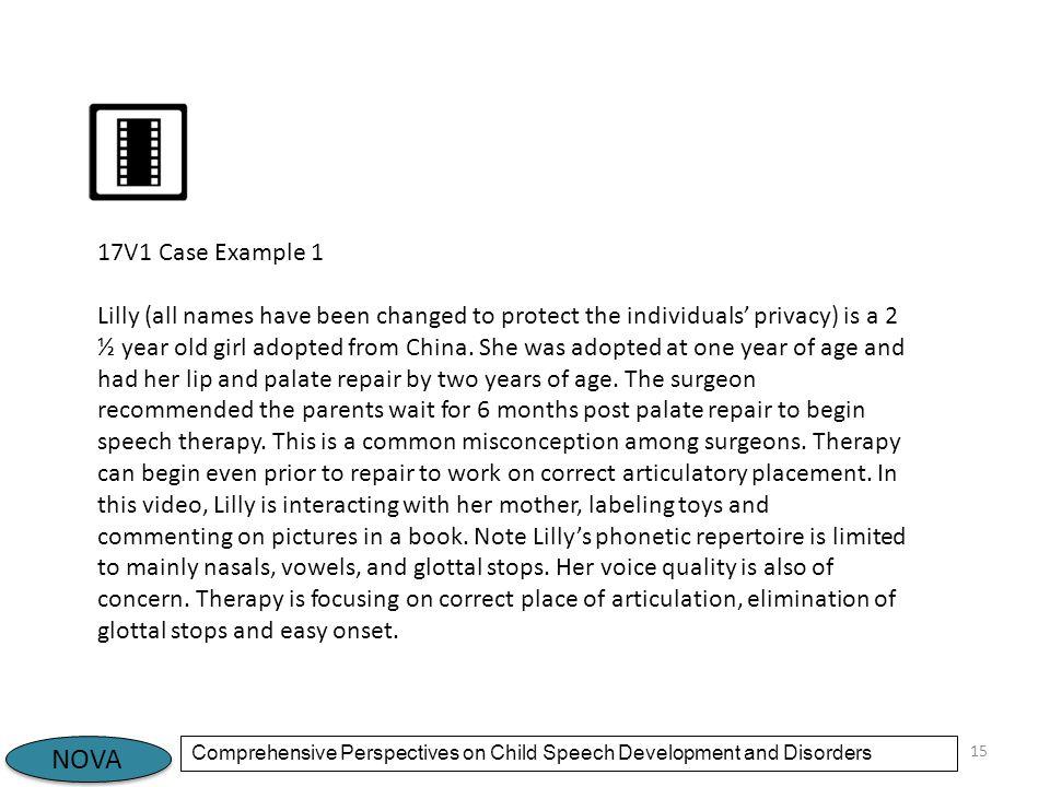 17V1 Case Example 1