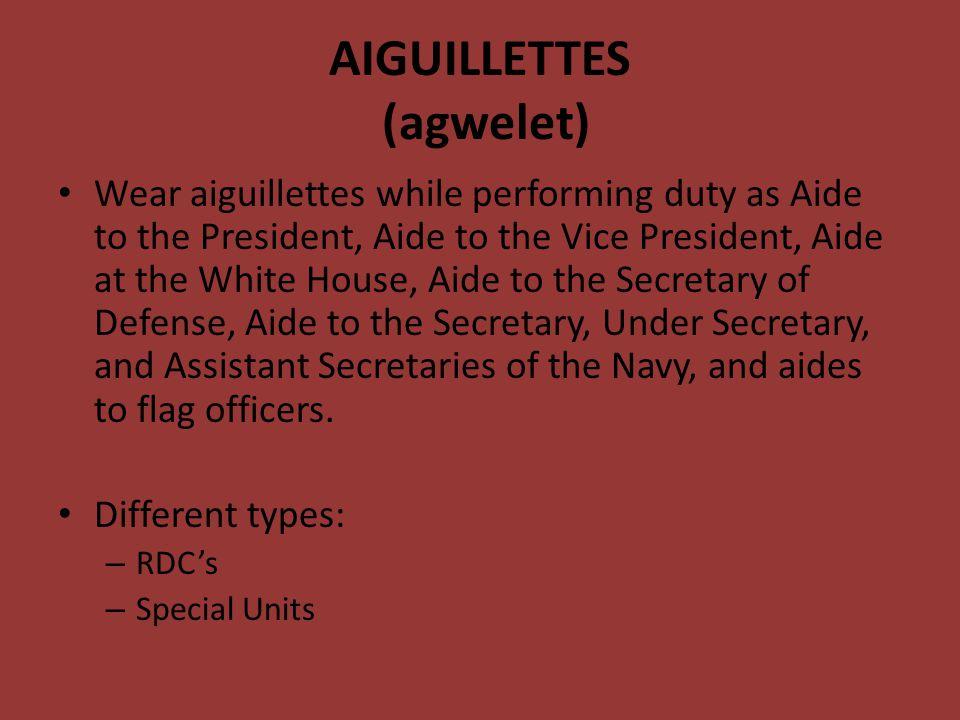 AIGUILLETTES (agwelet)