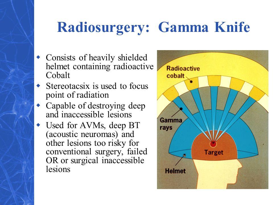 Radiosurgery: Gamma Knife