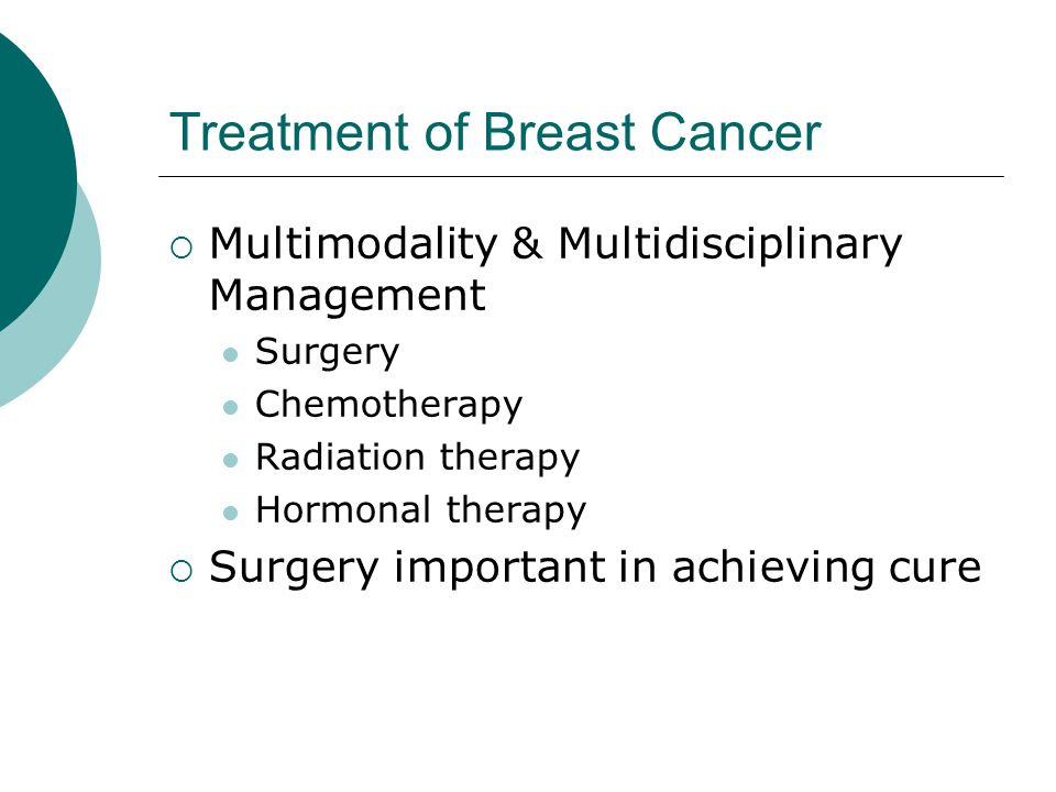 Treatment of Breast Cancer