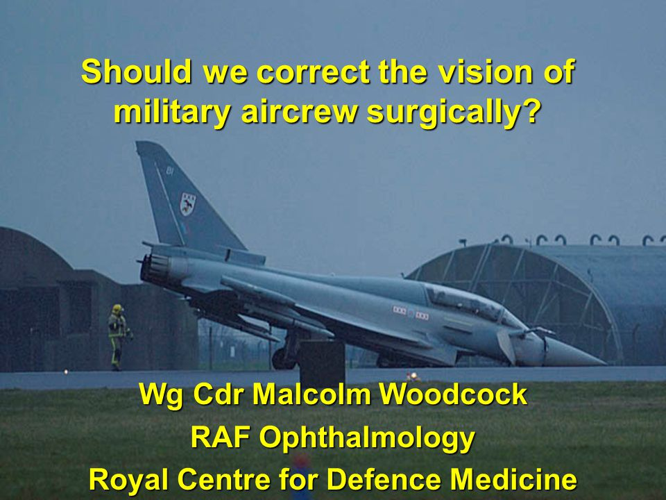 Should we correct the vision of military aircrew surgically