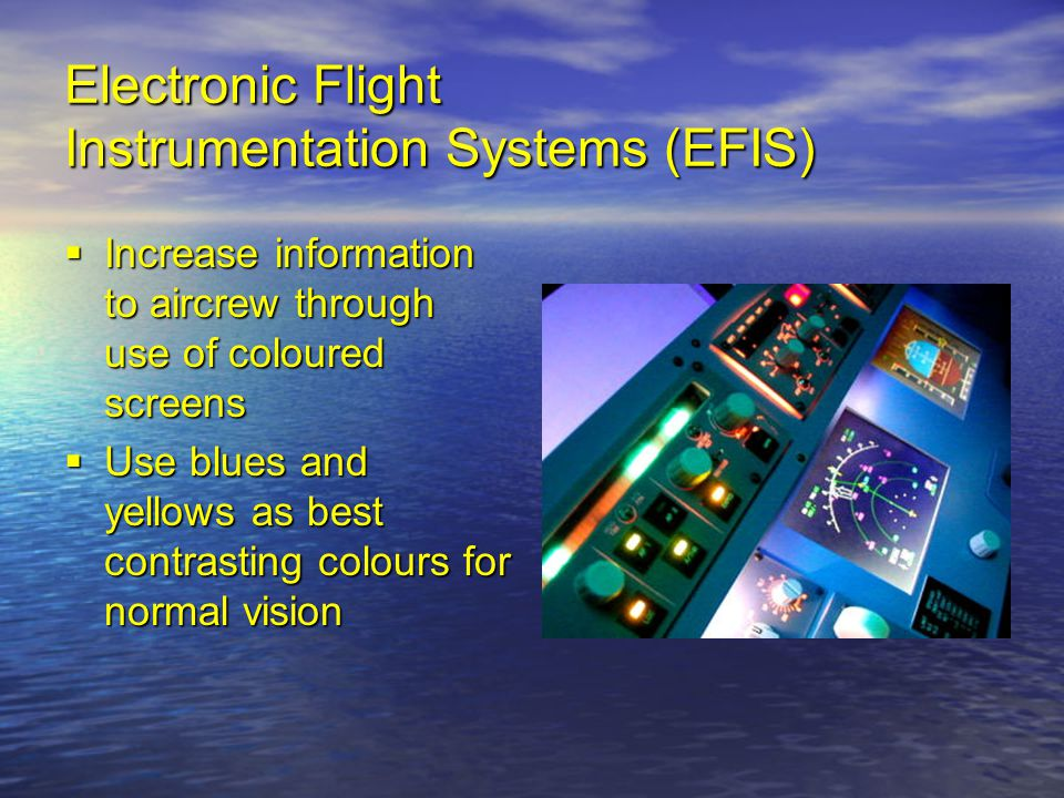 Electronic Flight Instrumentation Systems (EFIS)