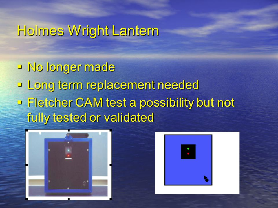 Holmes Wright Lantern No longer made Long term replacement needed