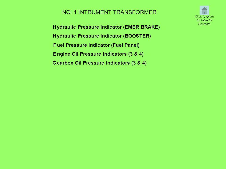 NO. 1 INTRUMENT TRANSFORMER