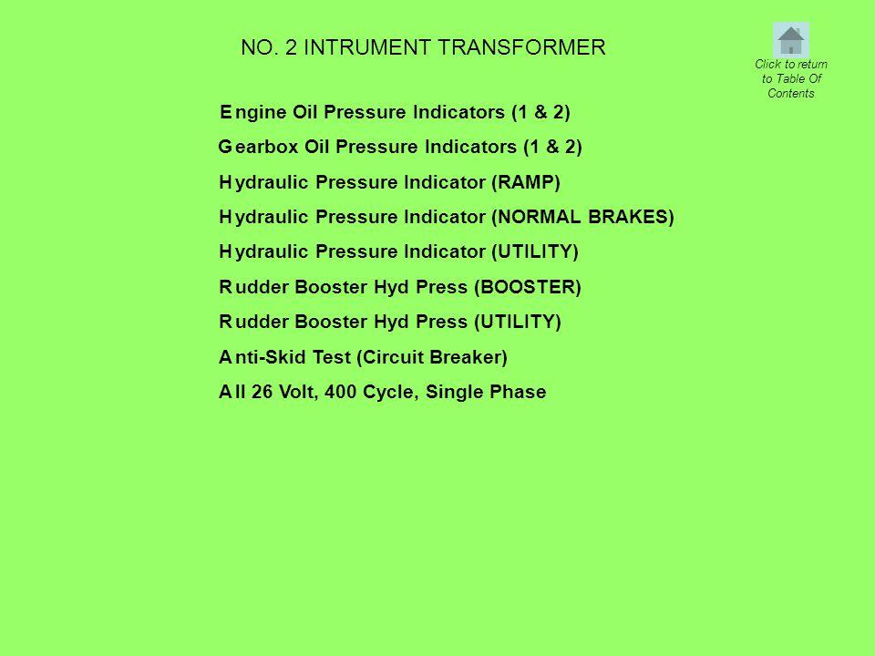 NO. 2 INTRUMENT TRANSFORMER